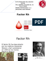 Presentación Factor Rh