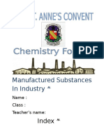 Manufactured Substances in Industry (Autosaved)