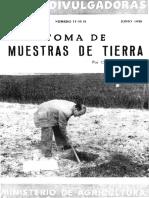TOMA DE MUESTRAS DE SUELO