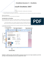 One Note PDF