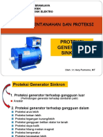Proteksi Generator Sinkron