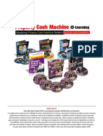 Property Cash Machine E-learning Joe Hartanto