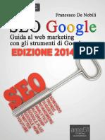 SEO Google. Guida Al Web Market - Francesco de Nobili