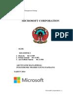 Analisis Strategi Microsoft Corporation