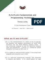 R Fundamentals