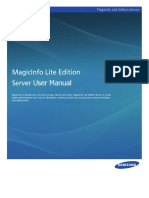 MagicInfo Lite Edition Server_Eng05
