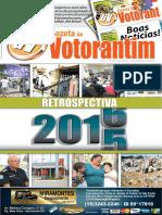Retrospectiva 2015 da Gazeta de Votorantim (edição 150)