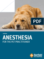 Anesthesia for the Pet Practitioner (Banfield, 2011 Edition)