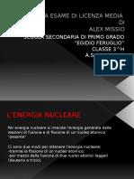 Tesina Power Point nucleare