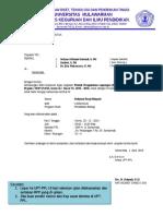 Surat Undangan Ujian PPL II