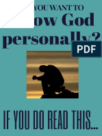 How to know God