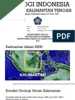 Geologi Regional Kalimantan Tengah