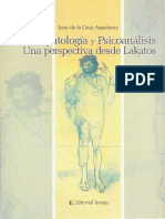Argañaraz Juan de La Cruz - Psicopatologia Y Psicoanalisis Una Perspectiva Desde Lakatos