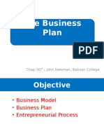 The Business Plan MAS
