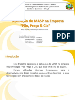 MASP - Padaria Pão, Praça & CIA.