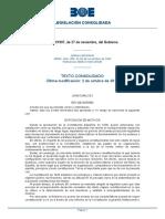 Ley 50-1997, De 27 de Noviembre- Leu Dew Gobierno