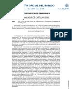 Ley Transparencia Castilla Leon