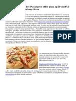 Giordanohs célèbre Pizza farcie offre pizza spécialité par des étoiles Anthony Rizzo