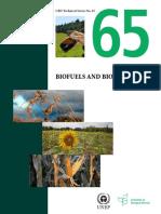 Biofuels and Biodiversity