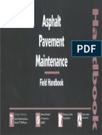 Asphalt Pavment Maintenance Filed Book