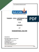 Boi Khda Financial Civil Interiors