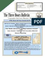 CBI Newsletter - April 2008