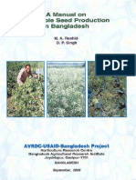 Manual on Vegetable Seed Production in Bangladesh