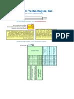 Clarifier Sizing Spreadsheet
