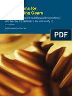 Self-locking Gear - Design and Potential Applications