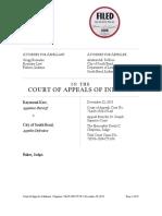 Kerr v. City of South Bend, No. 71A03-1502-CT-49 (Ind. App. Dec. 23, 2015)12231501 Jb