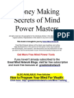 Greatest Money Secrets of the Master