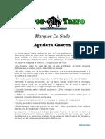 Sade, Marques de - Agudeza Gascona