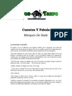 Sade, Marques de - Cuentos Y Fabulas