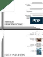 Architectural Portfolio - Hina Panchal