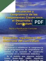 1.Articulación y Congruencia de Los Elementos Reguladores Del