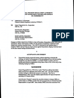 FINRA - Cantor Fitzgerald Enforcment Action