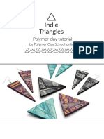 Polymer Clay School Tutorial Indie Triangles