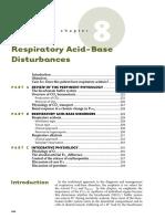 8 Respiratory Acid- Base Disturbances