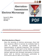 Progress in Aberration-Corrected Transmission Electron Microscopy - JRAlbia