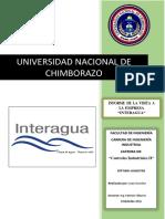 Informe Visita Interagua