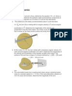 Activities 1 Dynamics