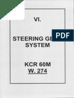 S.6. Steering Gear System