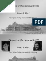 ICA-based Artifact Removal