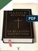 La Religión Americana- Harold Bloom