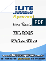 Elite Resolve ITA 2012-Matematica[1]