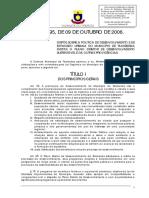 LEI 995-2006 (Plano Diretor Com Alterações.)