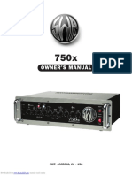 Swr 750x Bass Amplifier 750x