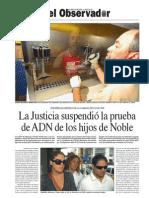 El Banco Nacional de Datos Genéticos, el encargado de devolver la identidad a los hijos de desaparecidos