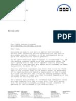 SL95-326 B&W Service letter
