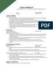 jenna patterson ~ resume 2